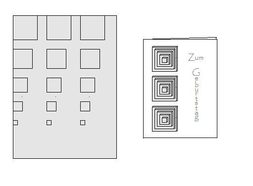 anleitung f r geburtstagskarten in 3d optik geburtstag vorlagen. Black Bedroom Furniture Sets. Home Design Ideas
